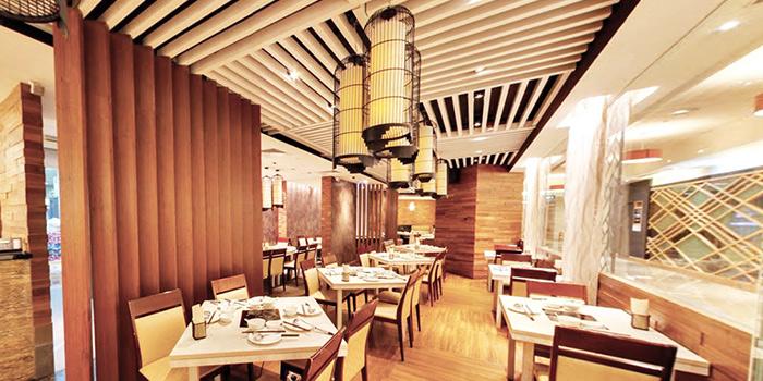 Dining Area of COCA at Takashimaya in Orchard, Singapore