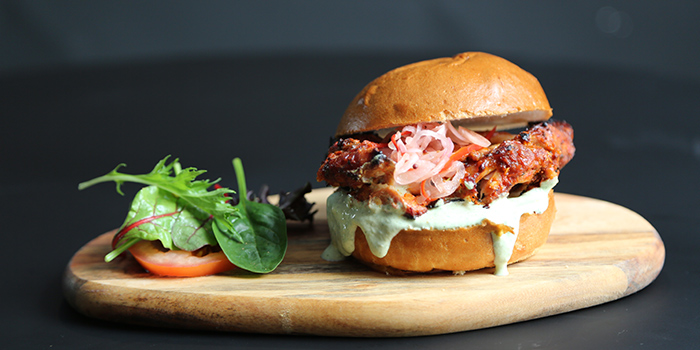 Tandoori Chicken Burger from Coriander Leaf @ Ann Siang in Tanjong Pagar, Singapore