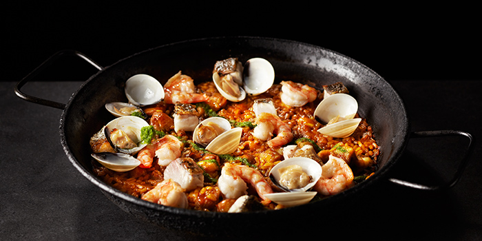 Paella Mixta from Tapas Club (VivoCity) at VivoCity in Harbourfront, Singapore