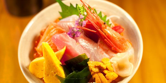 Signature Tatsumi Chirashidon from Tatsumi Japanese Cuisine at Pathumwan Princess Hotel 444 Phayathai Road Bangkok
