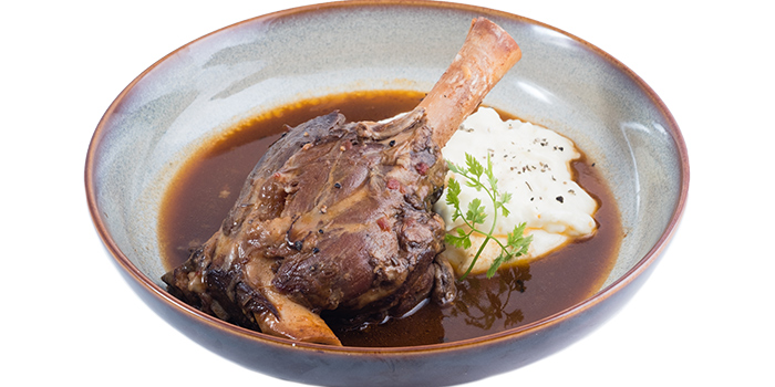 Italian Style Lamb Shank from Five &2 in Punggol, Singapore