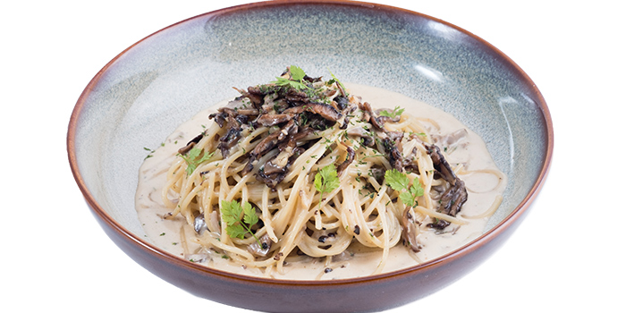 Mushroom Pasta from Five &2 in Punggol, Singapore