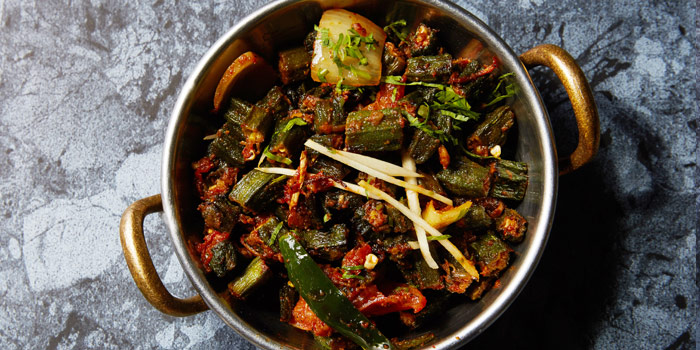 Vegetable Jaipuri from Rang Mahal at 26th Floor, Rembrandt Hotel 19 Sukhumvit Soi 18 Sukhumvit rd, Klong Toei Bangkok