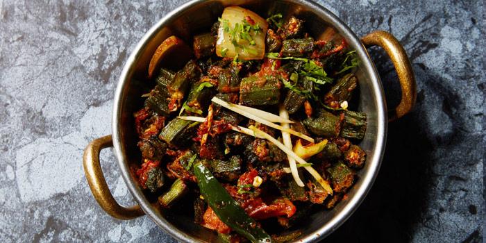 Vegetable Jaipuri from Rang Mahal at 26th Floor, Rembrandt Hotel 19 Sukhumvit Soi 18 Sukhumvit rd, Klong Toei Bangkok