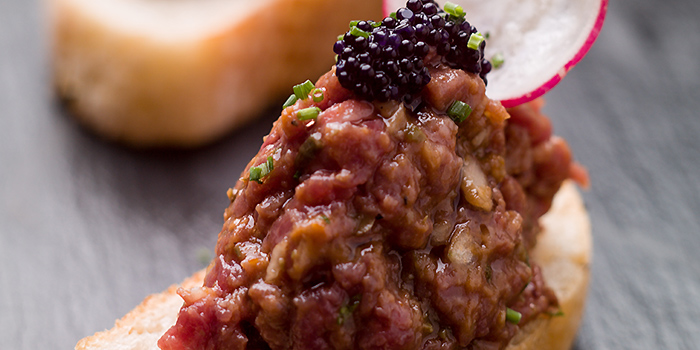 Wagyu Beef Tartar from Wine & Chef in Keong Saik, Singapore