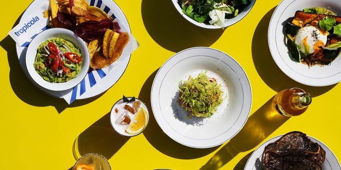 Dish 1 at Tropicola, Bali