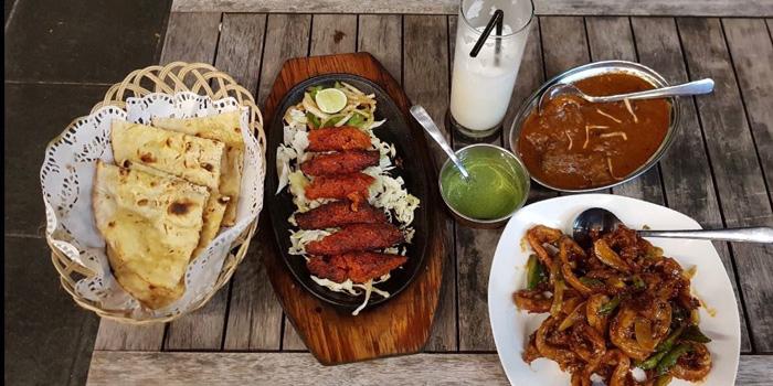 Dish 1 at Little India, Kuningan