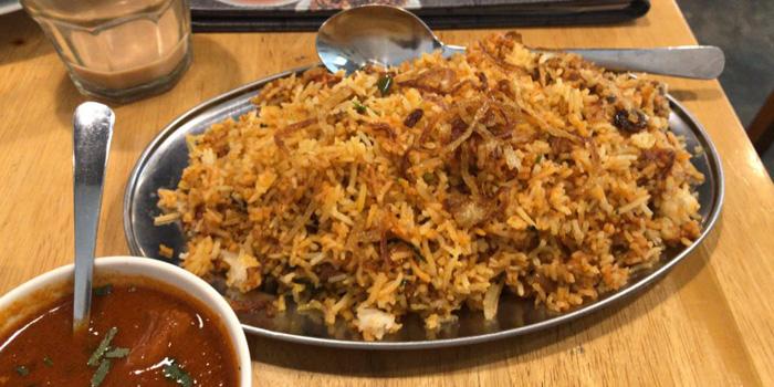 Dish 2 at Little India, Kuningan