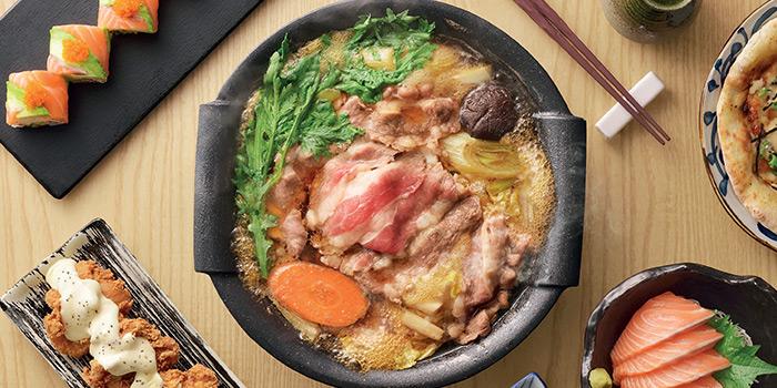 Food Spread from Watami (The Star Vista) in Buona Vista, Singapore