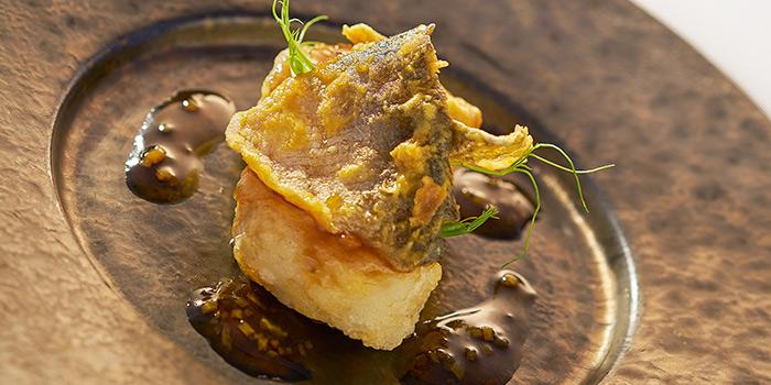 Wok seared Chilean Sea Bass with Yuzu Sauce, Yan Toh Heen, Tsim Sha Tsui East, Hong Kong