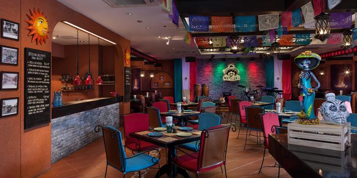 Ambience of Mexicano at 1st Floor, Rembrandt Hotel 19 Sukhumvit Soi 18 Sukhumvit rd, Klong Toei Bangkok