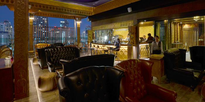 Ambience of Nabah Grill & Sky Lounge at Solitaire Hotel Bangkok (Rooftop 16th Floor) 75/23 Sukhumvit Soi 13 Klongtoey-Nua Bangkok