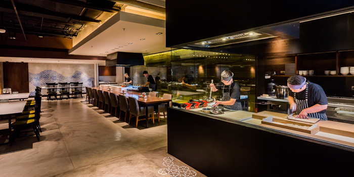 Ambience of Soba Factory at Bangkok Marriott Marquis Queen