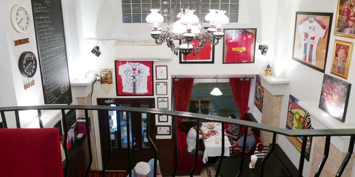 Ambience of JP French Restaurant at 59/1 Sukhumvit Rd., Soi 31 (Soi Sawasdee) Wattana, Klong Toey Bangkok