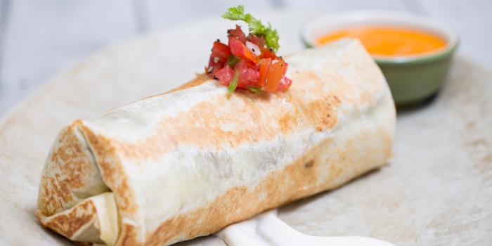 Burrito from Mexicano at 1st Floor, Rembrandt Hotel 19 Sukhumvit Soi 18 Sukhumvit rd, Klong Toei Bangkok