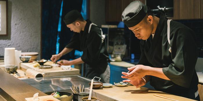 The Chef from Mizu by Sankyodai at Chaan Issara Tower on Rama IV Road, Bangkok