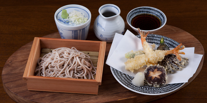 Cold Soba from Soba Factory at Bangkok Marriott Marquis Queen