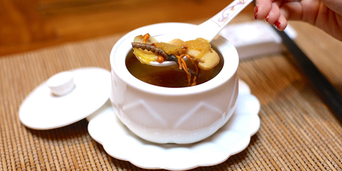 from Ganglamedo Vegetarian Cuisine in Tanjong Pagar, Singapore