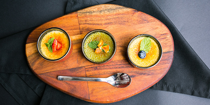 Creme Brulee from Coriander Leaf @ Ann Siang in Tanjong Pagar, Singapore