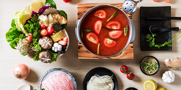 Tomato Soup from City Hot Pot Shabu Shabu (Raffles Place) at One Raffles Place in Raffles Place, Singapore