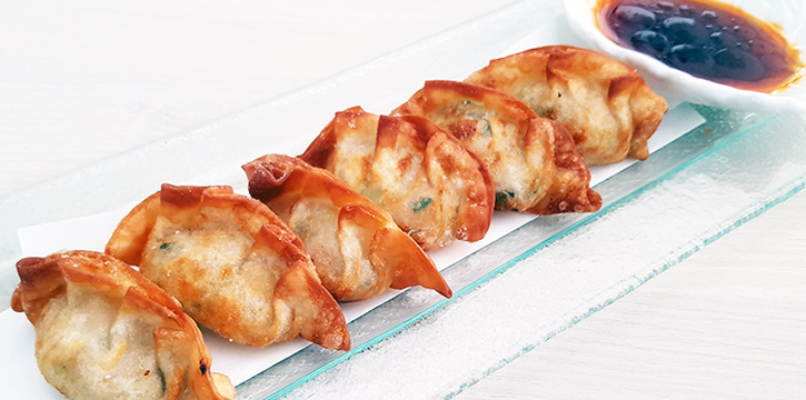 Chicken Gyoza from SG Taps in Duxton, Singapore