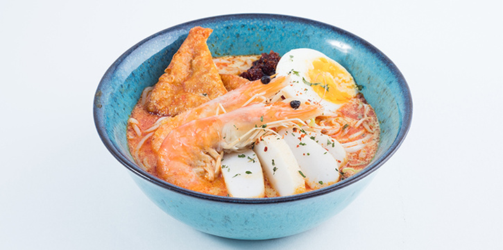 Singapore Laksa from Five &2 in Punggol, Singapore