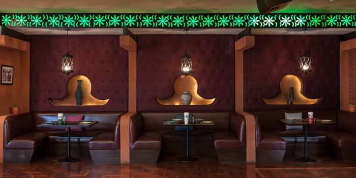 The Dining Area of Mexicano at 1st Floor, Rembrandt Hotel 19 Sukhumvit Soi 18 Sukhumvit rd, Klong Toei Bangkok