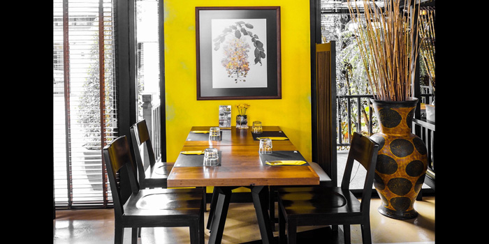 Dining Table of Jann Bistro @ Asoke, 24 Sukhumvit 21, Klongtoey Wattana, Bangkok