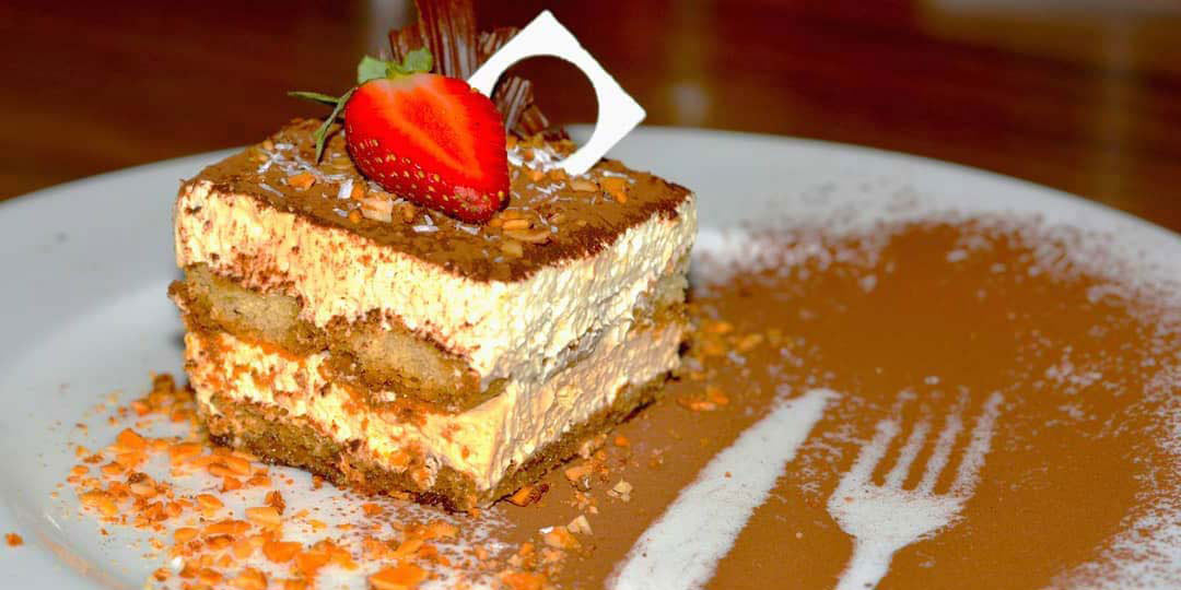 Dessert at Expatriate Italian Restaurant, Wine & Coffee