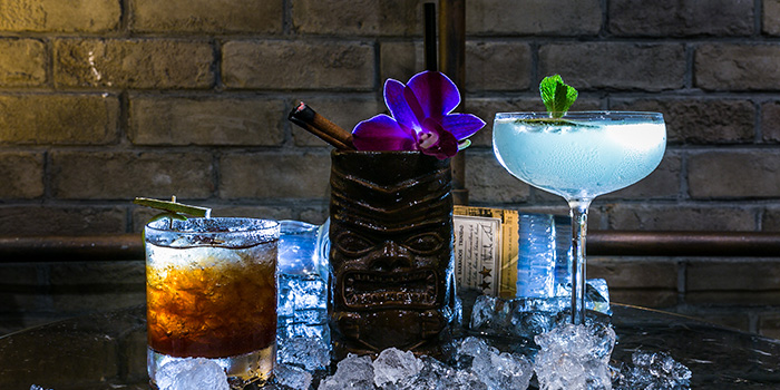 Cocktail Flights from Catchfly in Chinatown, Singapore