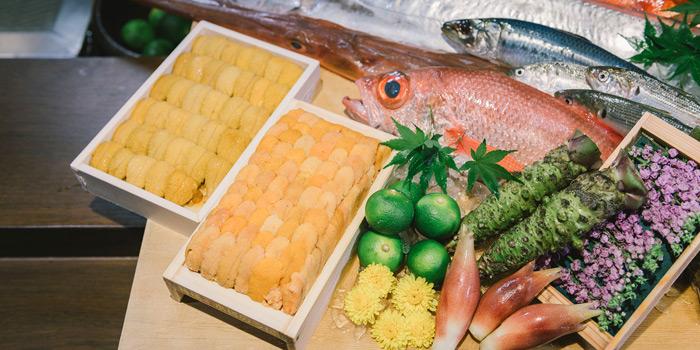 The Fresh Ingredient from Mizu by Sankyodai at Chaan Issara Tower on Rama IV Road, Bangkok