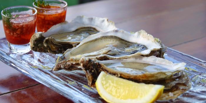 Fresh Oysters from Roots - Bangkok at K- Village, Bangkok