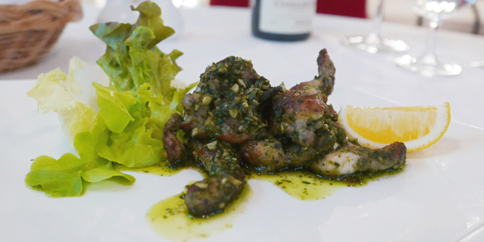 Frog Legs from JP French Restaurant at 59/1 Sukhumvit Rd., Soi 31 (Soi Sawasdee) Wattana, Klong Toey Bangkok