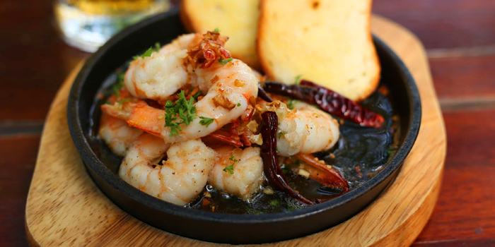 Gambas Al Ajillo from Roots - Bangkok at K- Village, Bangkok