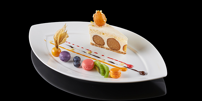 Gulab Jamun Cheesecake from The Song of India in Newton, Singapore