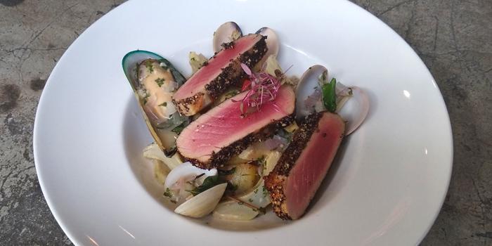 Mediterranean Seared Tuna from Blend Bistro & Wine Bar at 531-533 Sukhumvit Rd Khlong Toei Nuea, Watthana Bangkok