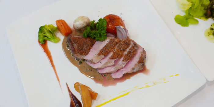 Roasted Duck Breast from JP French Restaurant at 59/1 Sukhumvit Rd., Soi 31 (Soi Sawasdee) Wattana, Klong Toey Bangkok