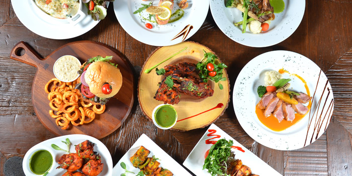 Signature Dishes from Nabah Grill & Sky Lounge at Solitaire Hotel Bangkok (Rooftop 16th Floor) 75/23 Sukhumvit Soi 13 Klongtoey-Nua Bangkok