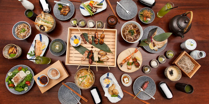 Signature Dishes from Soba Factory at Bangkok Marriott Marquis Queen