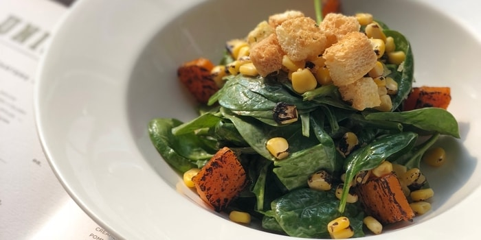 Spinach Salad at Union, PIK Avenue