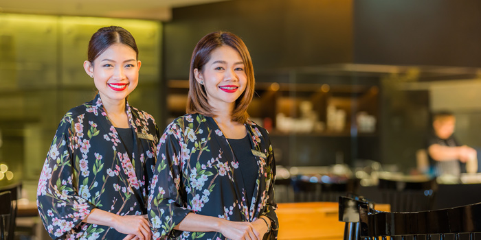The Staff from Soba Factory at Bangkok Marriott Marquis Queen