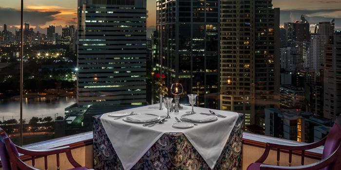The View of Rang Mahal at 26th Floor, Rembrandt Hotel 19 Sukhumvit Soi 18 Sukhumvit rd, Klong Toei Bangkok