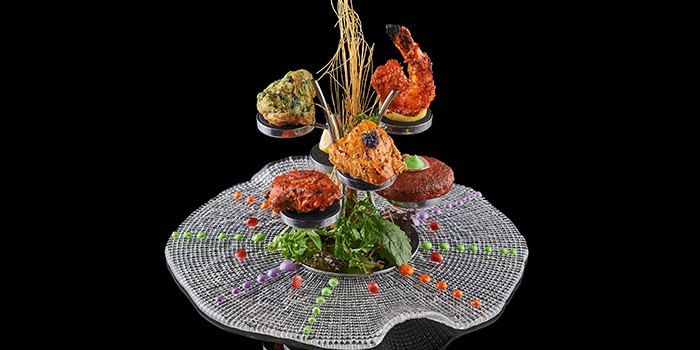 Tree of Life Non-Veg Kebab Tasting Platter from The Song of India in Newton, Singapore
