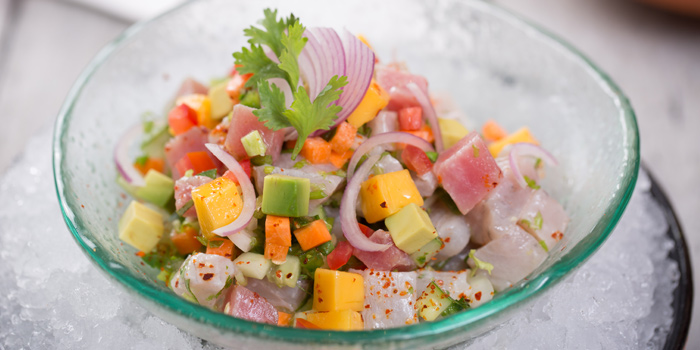 Tuna Ceviche from Mexicano at 1st Floor, Rembrandt Hotel 19 Sukhumvit Soi 18 Sukhumvit rd, Klong Toei Bangkok