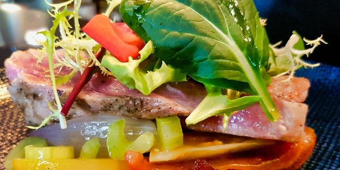 Pan Seared Tuna from ALBA 1836 Italian Restaurant in Duxton, Singapore