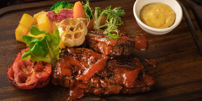 BBQ US Short Rib at VIN+, Arcadia Senayan