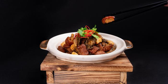 Braised Suckling Pig with Preserved Vegetables from TCC @ OSC in Orchard, Singapore