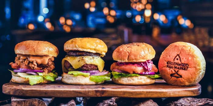 Burger Assortment from Greenwood Fish Market @ Valley Point in River Valley, Singapore