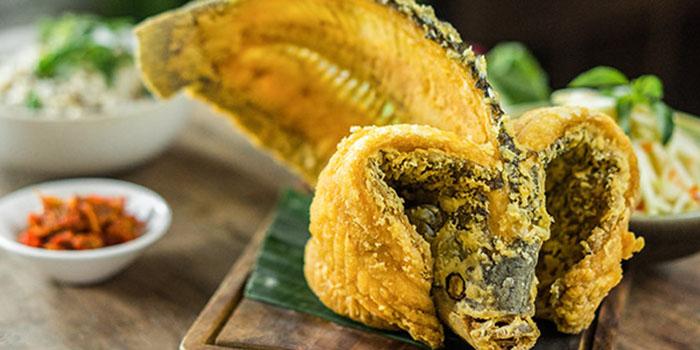 Crispy Whole Fish of Hujan Locale Bali