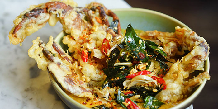 Soft Shell Crab of Hujan Locale Bali